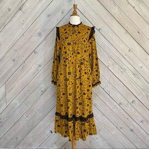 Target Universal Thread Floral Prairie Dress